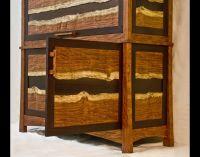 Hand Made Bubinga & Wenge Gun Cabinet by Corlis Woodworks ...
