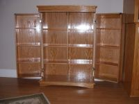 Hand Made Dvd Cabinet by Richards Woodworking | CustomMade.com