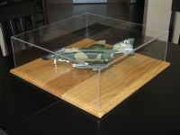 Hand Made Acrylic And Oak Scale Model Display Case by ...