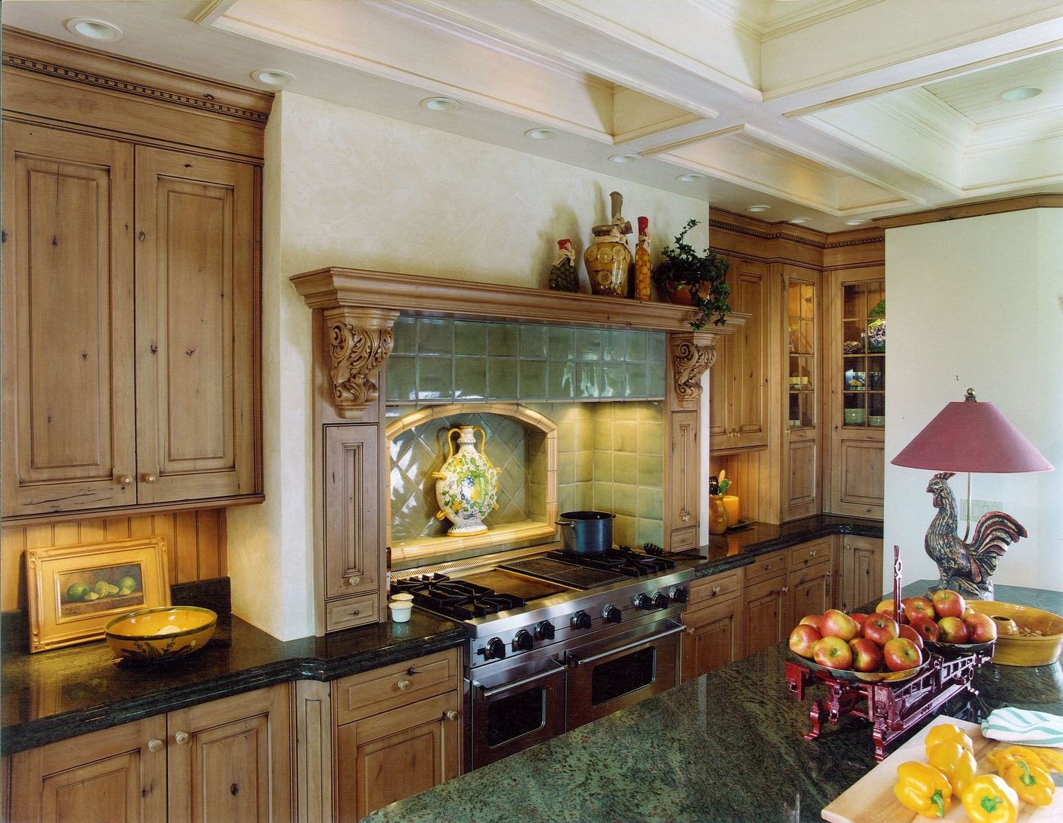 Hand Made Old World English Kitchen Remodel by Cabinets
