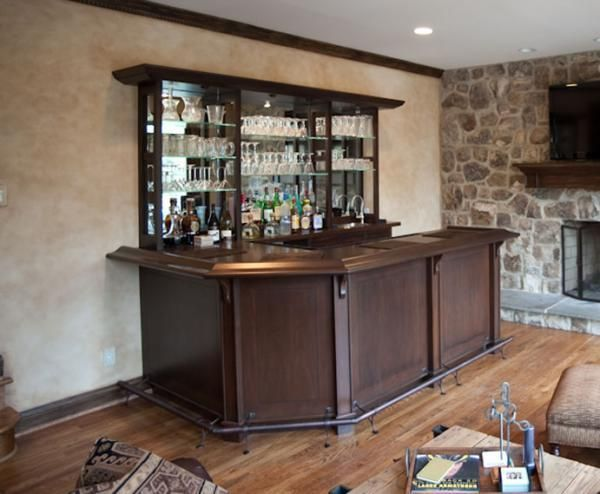 Handmade Family Room WetBar by Terrapin Woodworking