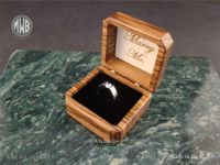 Buy a Hand Made Zebra Wood Engagement Ring Box, With Free ...