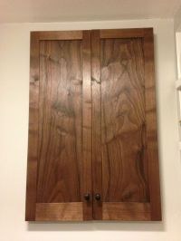 Hand Made Walnut Bathroom Cabinet by Broadleaf Studio ...