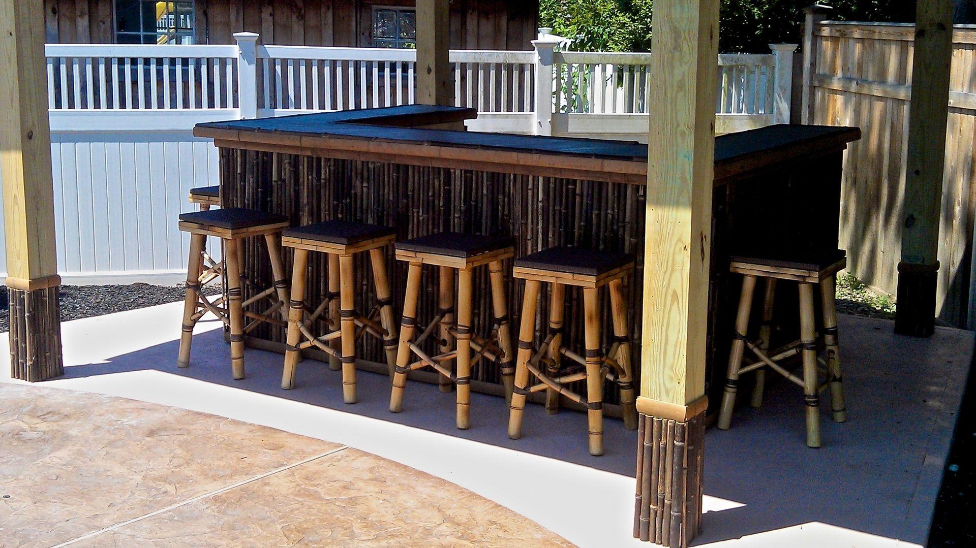 Custom Tiki Bar by Riftsawn Carpentry  CustomMadecom