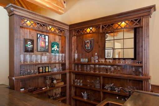 Custom Scottish Pub Bar By Dan Joseph Woodworks