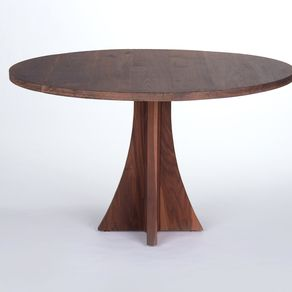 kitchen tables round wood floors dining and custommade com solid walnut table by peter gadjev