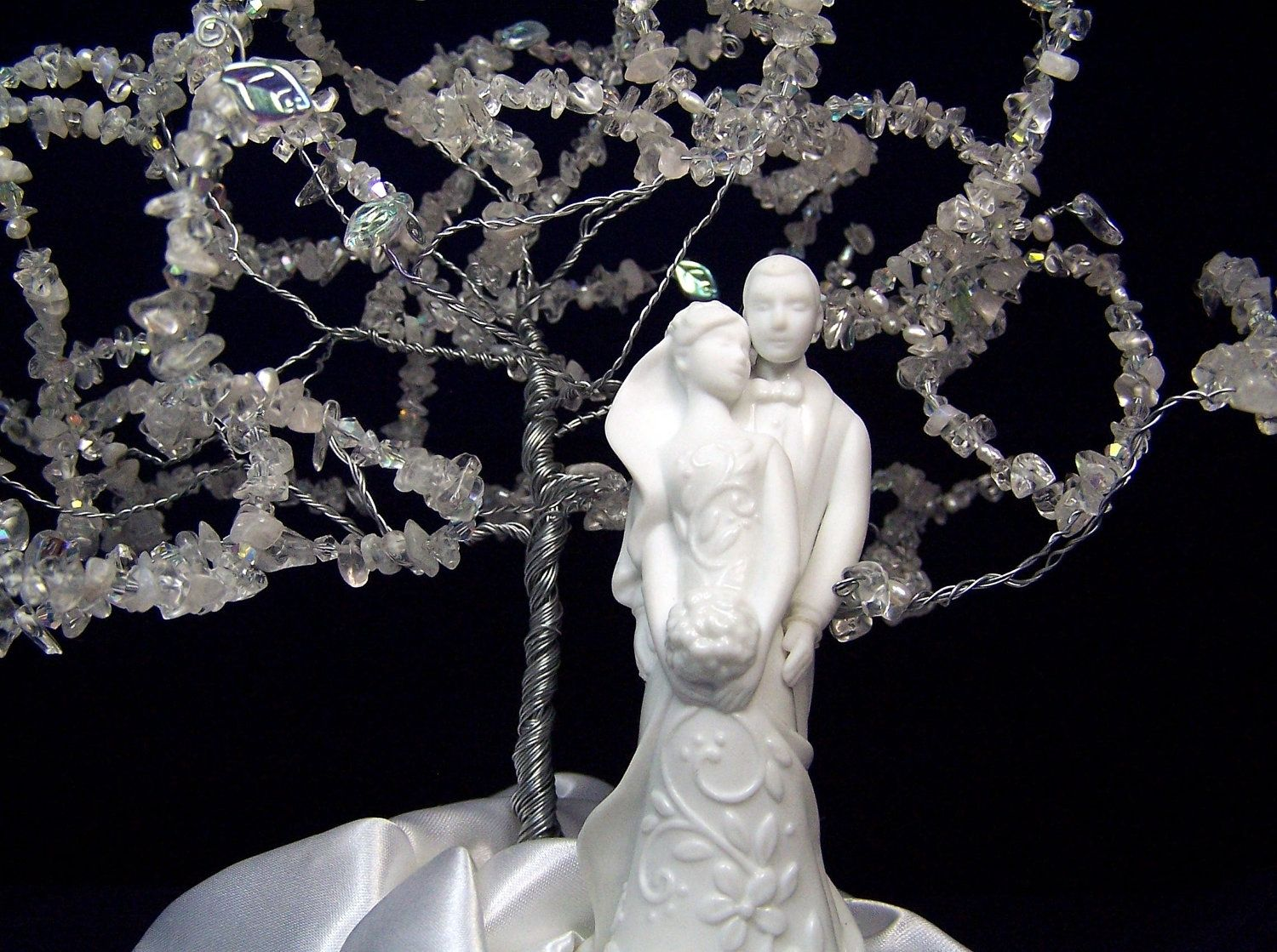 Custom Wedding Cake Topper Tree Of Life Sculpture Modern