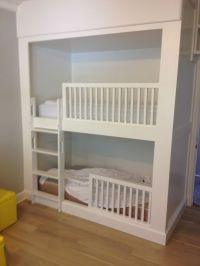 Hand Crafted Built In Bunk Beds by BK Renovations, Inc