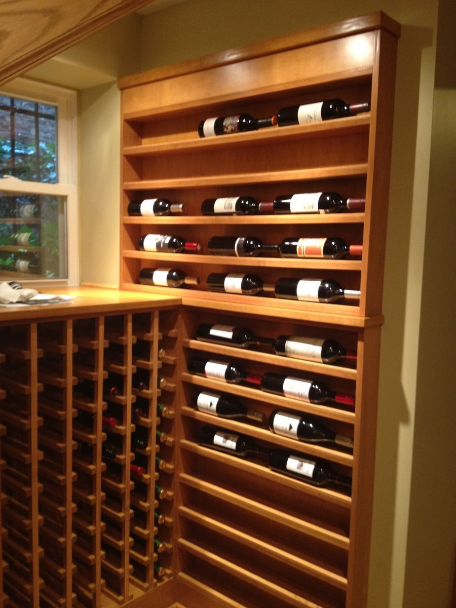 Hand Crafted Custom Wine Rack by Pagoda Studios Inc