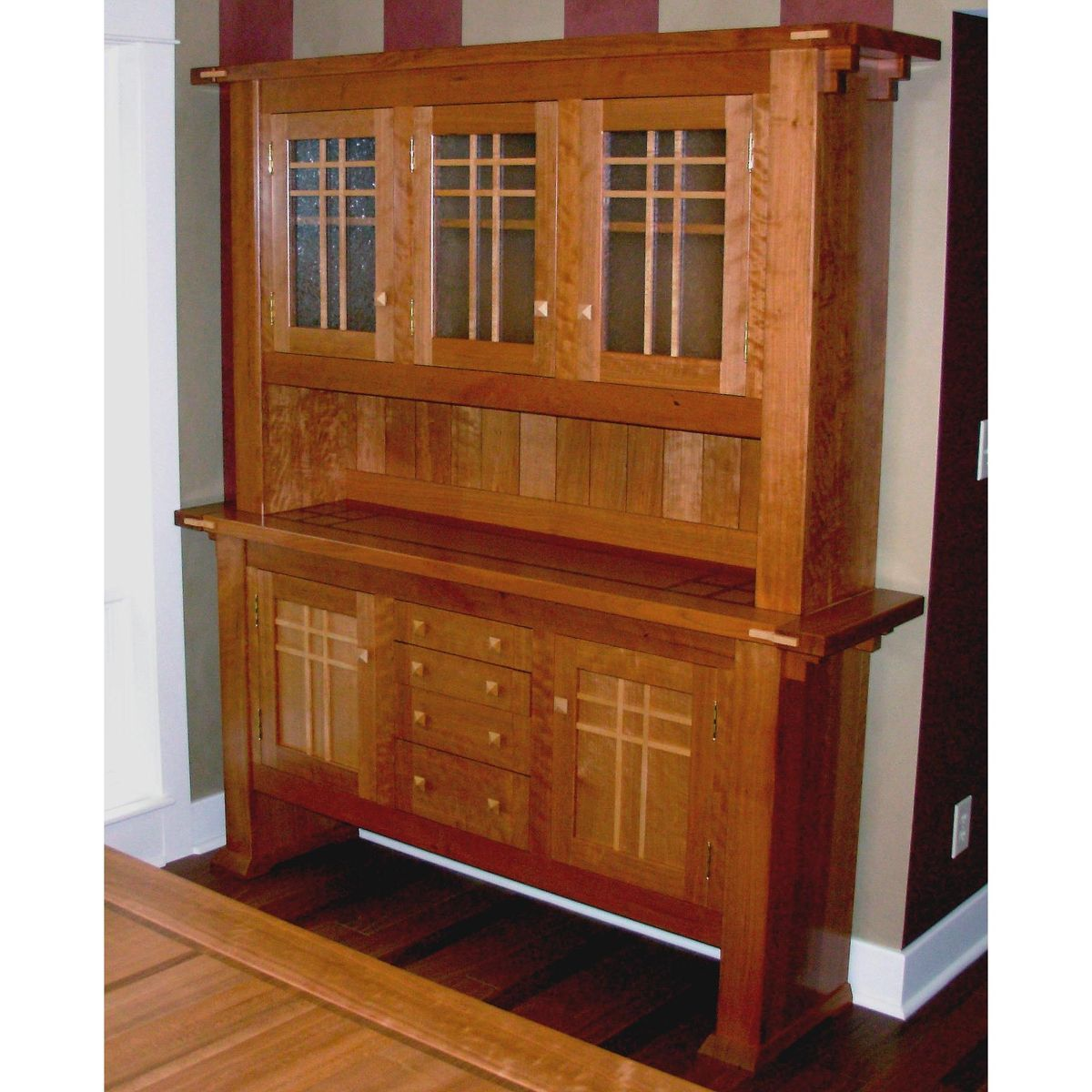 Hand Made Dining Room Hutch by Mevans Design  CustomMadecom
