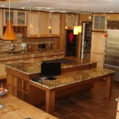 Walnut Kitchen Cabinets Wolf Appliances Handmade Maple And Cabinetry By Delnero Furniture