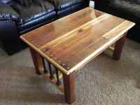 Buy a Custom Western Cedar Coffee Table, made to order ...