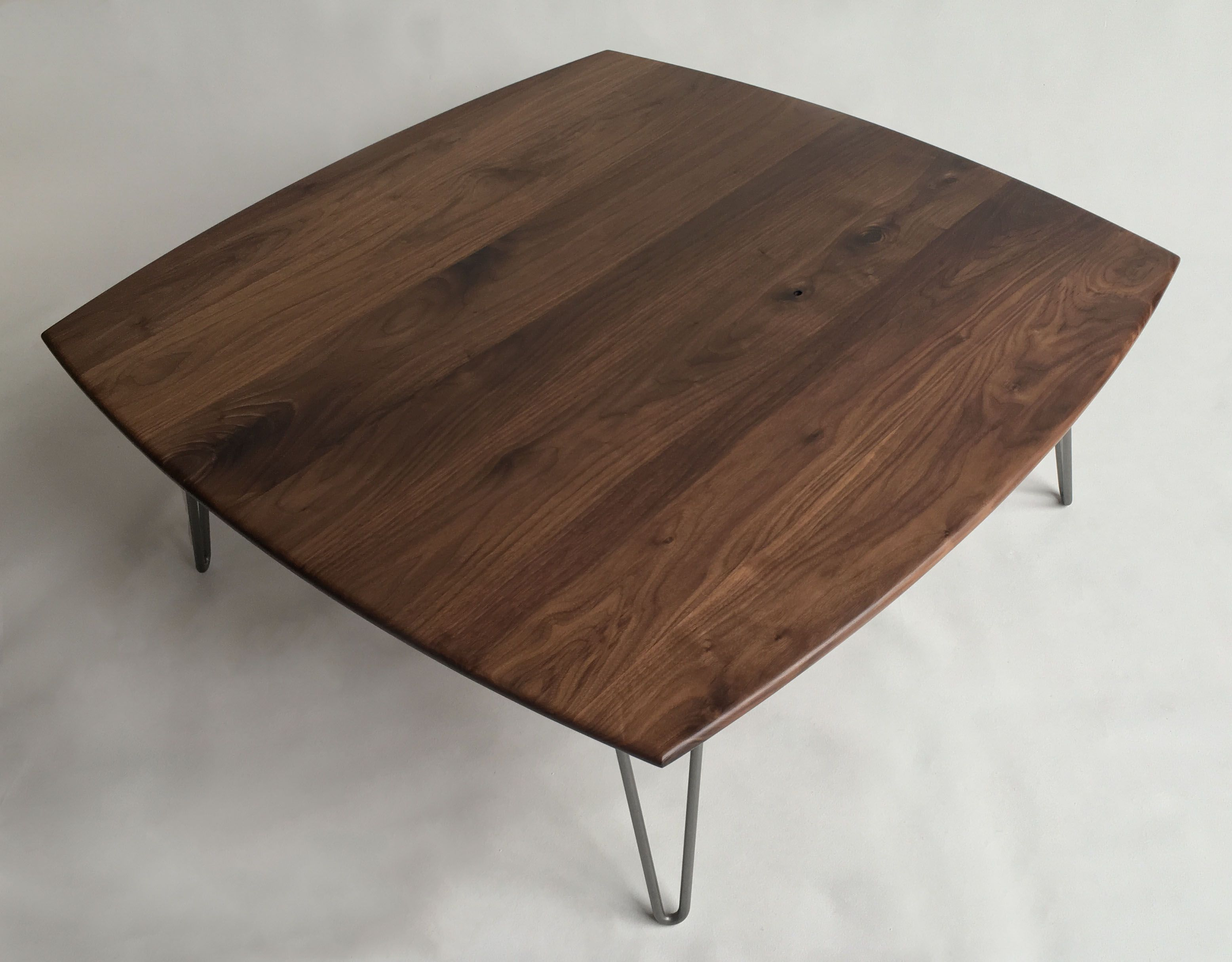Buy Hand Made Solid Walnut Cocktail Table