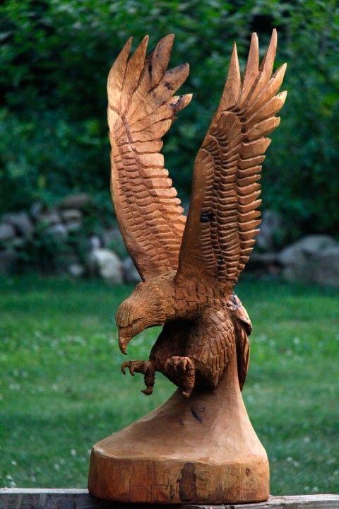 Handmade Custom Wildlife Carving by Custom Sculpture and