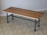 Custom Reclaimed Barn Wood Coffee Table With Industrial ...