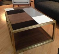 Custom Metal  Modern Coffee Table Base by Andrew Stansell ...