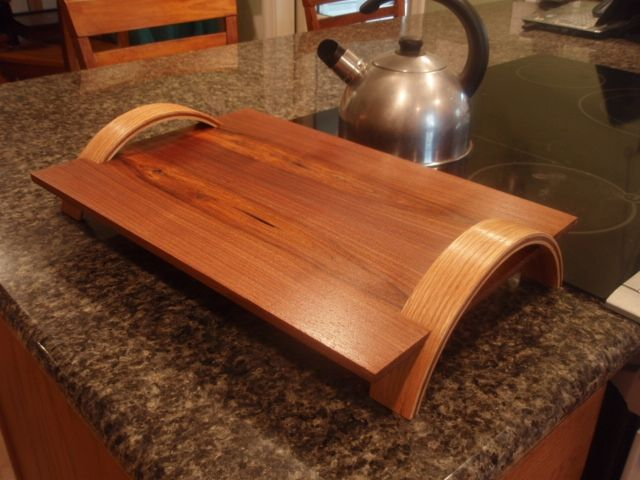 Hand Crafted Serving Tray By Woodendeavor Llc