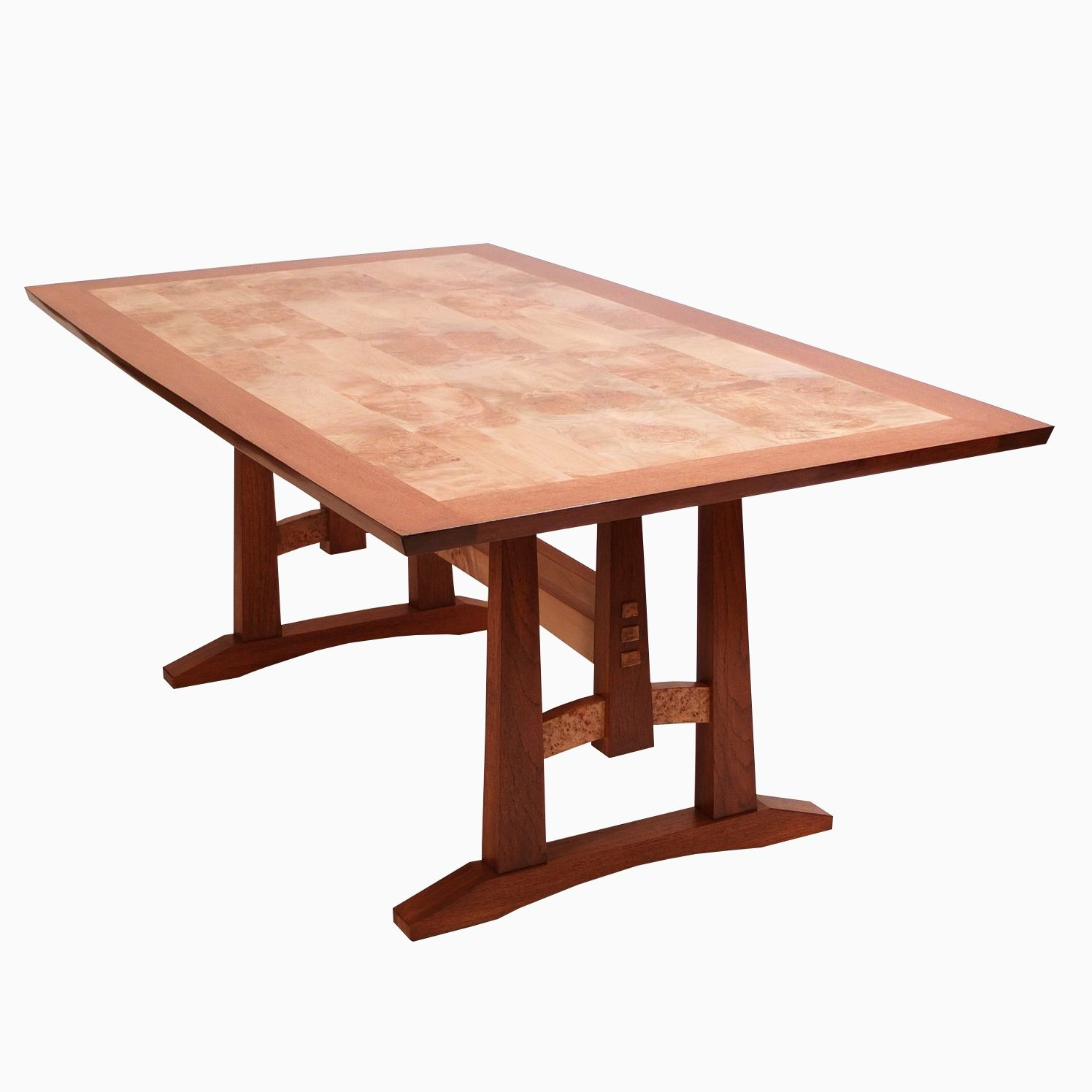 maple kitchen table nook ideas hand crafted oak and burl dining by dogwood design custom made