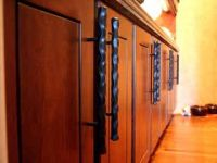 Handmade Hand-Forged Kitchen Cabinet Hardware by David ...