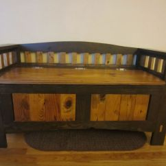 Bedroom Chair M&s Hospital Chairs Handmade Entry Storage Bench By Kinderling Wood