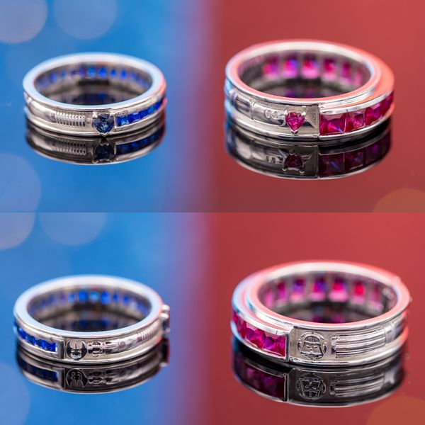 geeky engagement rings nerdy