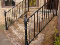 Handmade Wrought Iron Railing by Awesome Iron And Steel ...