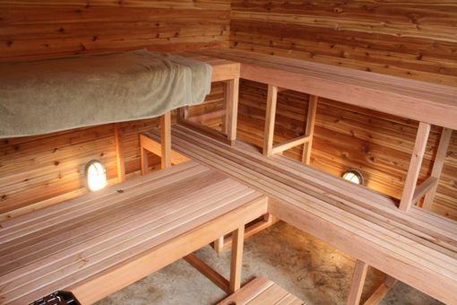 Custom Made Western Red Cedar Finnish Style Sauna by ...
