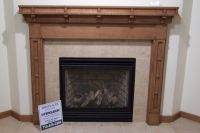 Handmade Craftsman Style Fireplace Surround by Custom ...