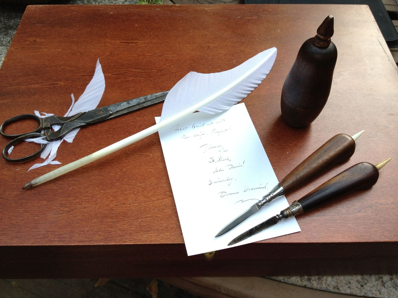 Custom Made 18th Century Quill Knife Reproduction by John