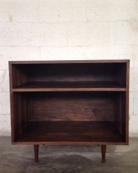 Buy a Hand Made Mid Century Modern Record Cabinet In ...