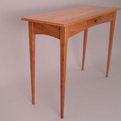 Custom Made Sofa Tables Room And Board Sleeper Review Cherry Hall Table By Dunbar Woodworking