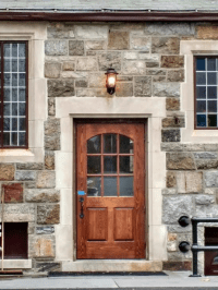Hand Made Insulated Exterior Door by Wm Pinion Fine