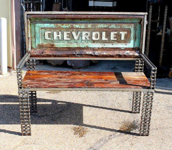 Chevrolet Truck Tailgate Bench