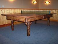 Custom Rustic Ping Pong by Baron's Billiards | CustomMade.com