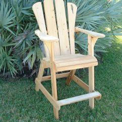 Modern Adirondack Chair Dining Covers Dunelm Handmade - Extra Tall Design By Island Time | Custommade.com