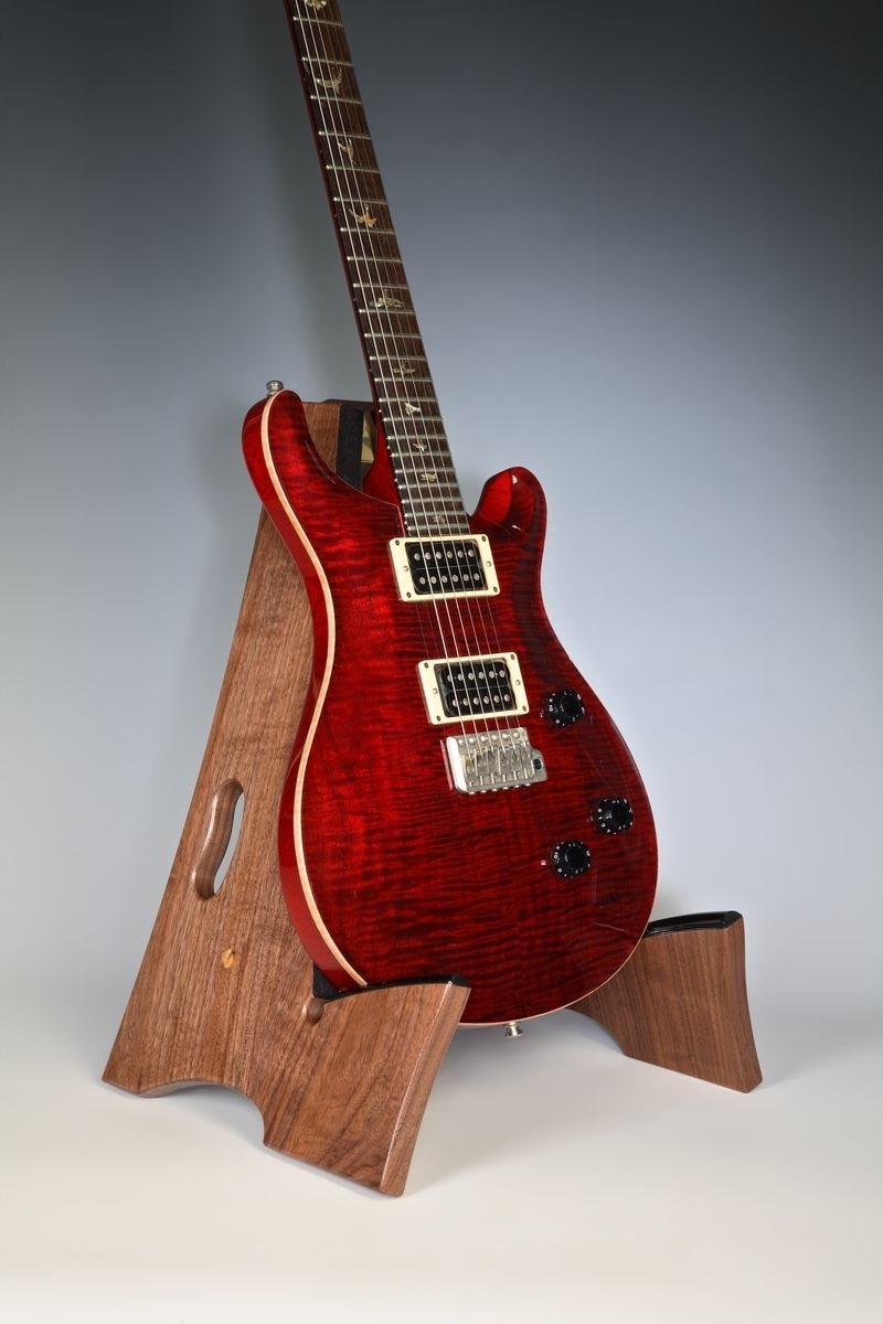 Custom Made SlayFrame Wooden Guitar Stand by DS design