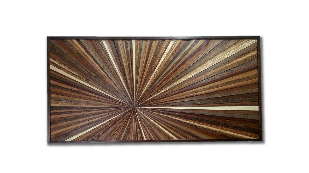 Hand Made Reclaimed Wood Wall Art Custom Made Wood