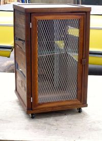 Hand Crafted Custom Scotch Display Cabinet In Reclaimed ...