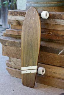 Hand Custom Solid Wood Skateboard