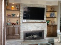 Hand Crafted Fireplace Bookshelves by LAM Woodworks ...