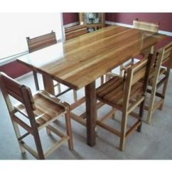 Table And 6 Chairs High Lift Office Chair Nz Custom Pub By Engineered Wood Products Inc