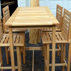 Outdoor Bar Table And Chairs Hair Style Chair Custom Made Height 4 For