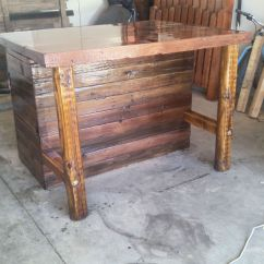 Handmade Kitchen Islands Cabinets Fayetteville Nc Rustic Island Or Outdoor Bar By Cowboy Creation Custom Made