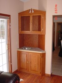 Hand Made Wet Bar Cabinet by BBG Woodworks | CustomMade.com