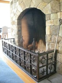 Hand Crafted Old World Style Fireplace Guard by Benjamin ...