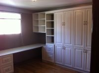 Hand Crafted Custom Home Office Murphy Bed by Motivo