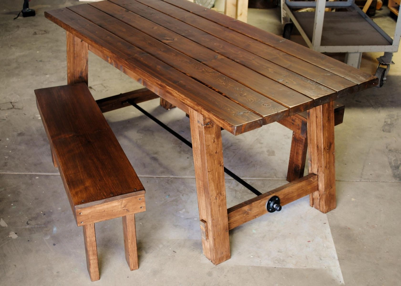 Farm Chairs Hand Made Farmhouse Table By Sb Designs Custommade