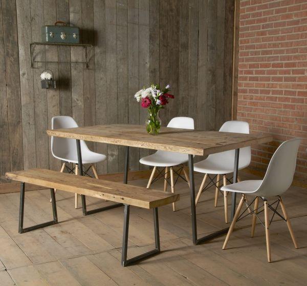Custom Brooklyn Modern Rustic Reclaimed Wood