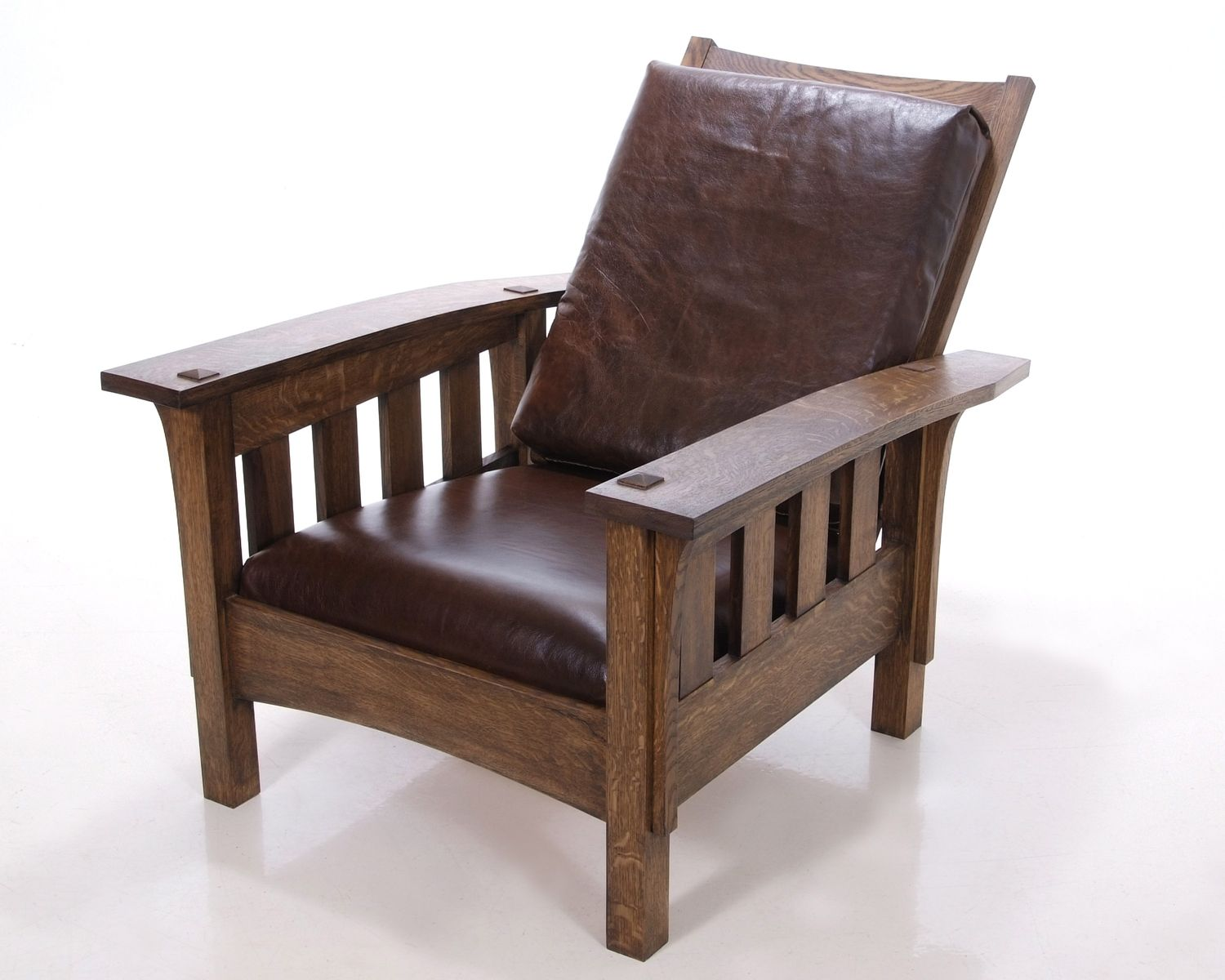 Mission Chairs Hand Crafted Morris Chair By Kauffman Fine Furniture
