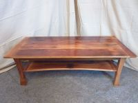 Hand Made Skinny Buffalo Coffee Table by Meg Thompson Art